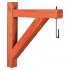 Natura väggkonsoll/hållare för hängande fågelmatare - 35x34 cm