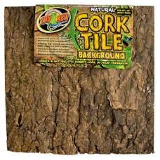 Natural Cork Tile Background - 45x45 cm