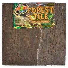 Natural Forest Tile Background - 45x45 cm
