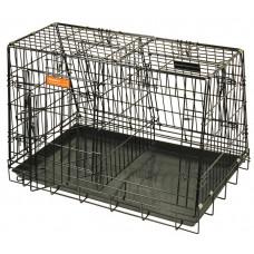 "Hundbur i stål ""D""  - 92x60x61.5 cm"