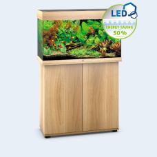JUWEL akvarium Rio 125 - LED - Ljust trä