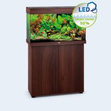 JUWEL akvarium Rio 125 - LED - Mörkt trä