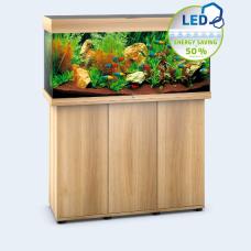 JUWEL akvarium Rio 180 - LED - Ljust trä
