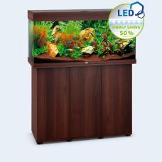 JUWEL akvarium Rio 180 - LED - Mörkt trä