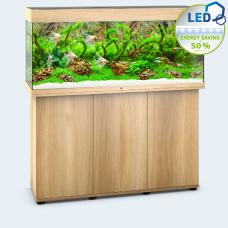 JUWEL akvarium Rio 240 - LED - Ljust trä