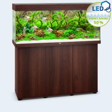 JUWEL akvarium Rio 240 - LED - Mörkt trä