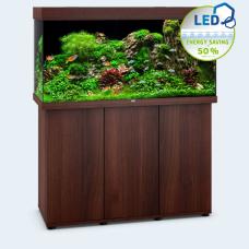 JUWEL akvarium Rio 350 - LED - Mörkt trä