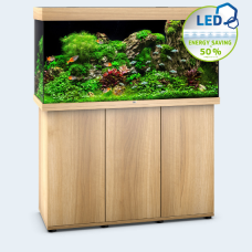 JUWEL akvarium Rio 350 - LED - Ljust trä