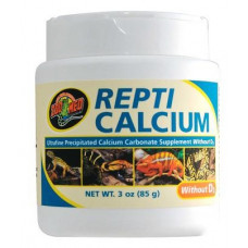 Repti Calcium Without D3 - 85g