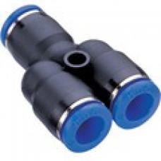 Y-anslutning 6mm till 2x4mm - 2st
