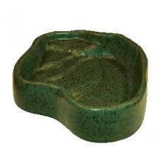 Terra-Puzzle Keramikskål Glaserad - 24x19 cm - Grön